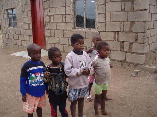 Children at Thulwane