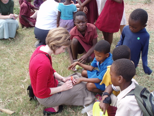 Manicures in Swaziland!
